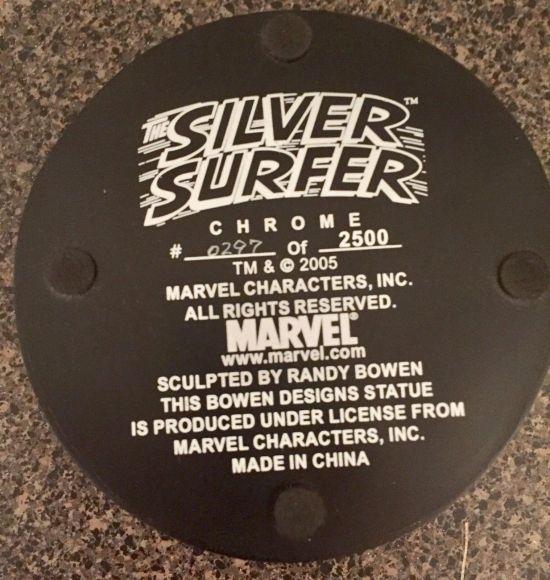 Bowen-Designs-CHROME-Silver-Surfer-statue-by-Randy-_57