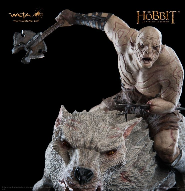 Extremely-Rare-Weta-Azog-The-Defiler-On-Warg