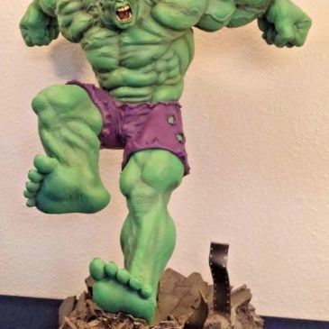 Green-Hulk-Comiquette-Statue-Exclusive-marvel-Sideshow-Collectibles