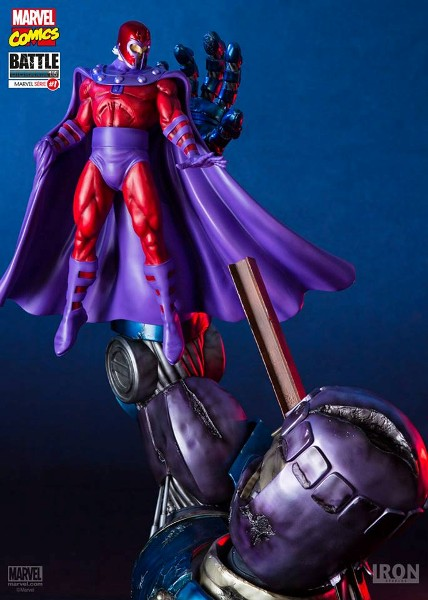 Iron Studios Magneto vs Sentinel Exclusive