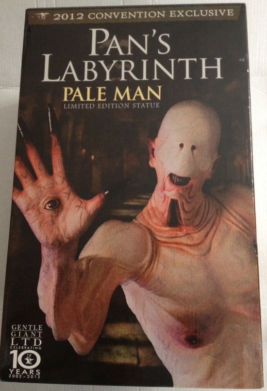 Pans-Labyrinth-Pale-Man-Statue-SIGNED-Gentle-Giant