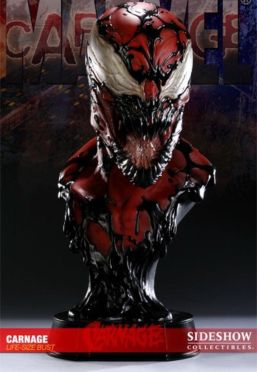 Sideshow-Collectibles-Carnage-11-Life-Size-Bust-Lsb
