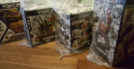 Sideshow-Collectibles-Exclusive-Edition-TMNT-COMIQUETTE-SET-NEW-_57