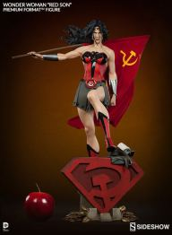 Sideshow-Collectibles-Premium-Format-WONDER-WOMAN-RED