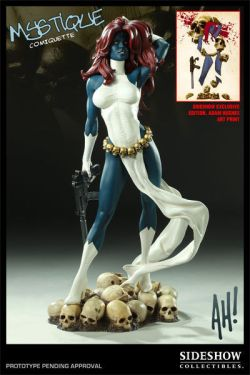 Sideshow-Excl-Mystique-Comiquette-Statue-Marvel-Sold-Out