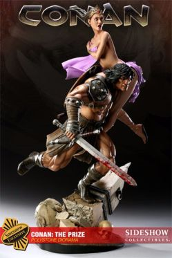 SIDESHOW-EXCLUSIVE-CONAN-THE-BARBARIAN-Price-SCALE-STATUE