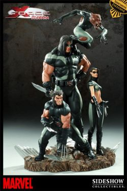 SIDESHOW-EXCLUSIVE-NEW-MIB-X-FORCE-DIORAMA-STATUE-WOLVERINE-X-23
