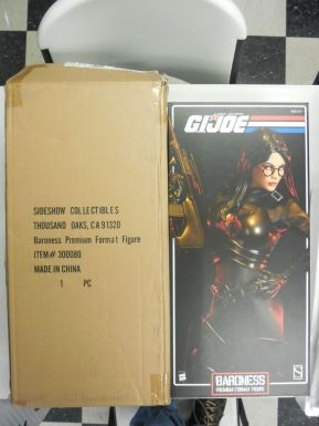 Sideshow-GI-Joe-BARONESS-Black-Uniform-Figure