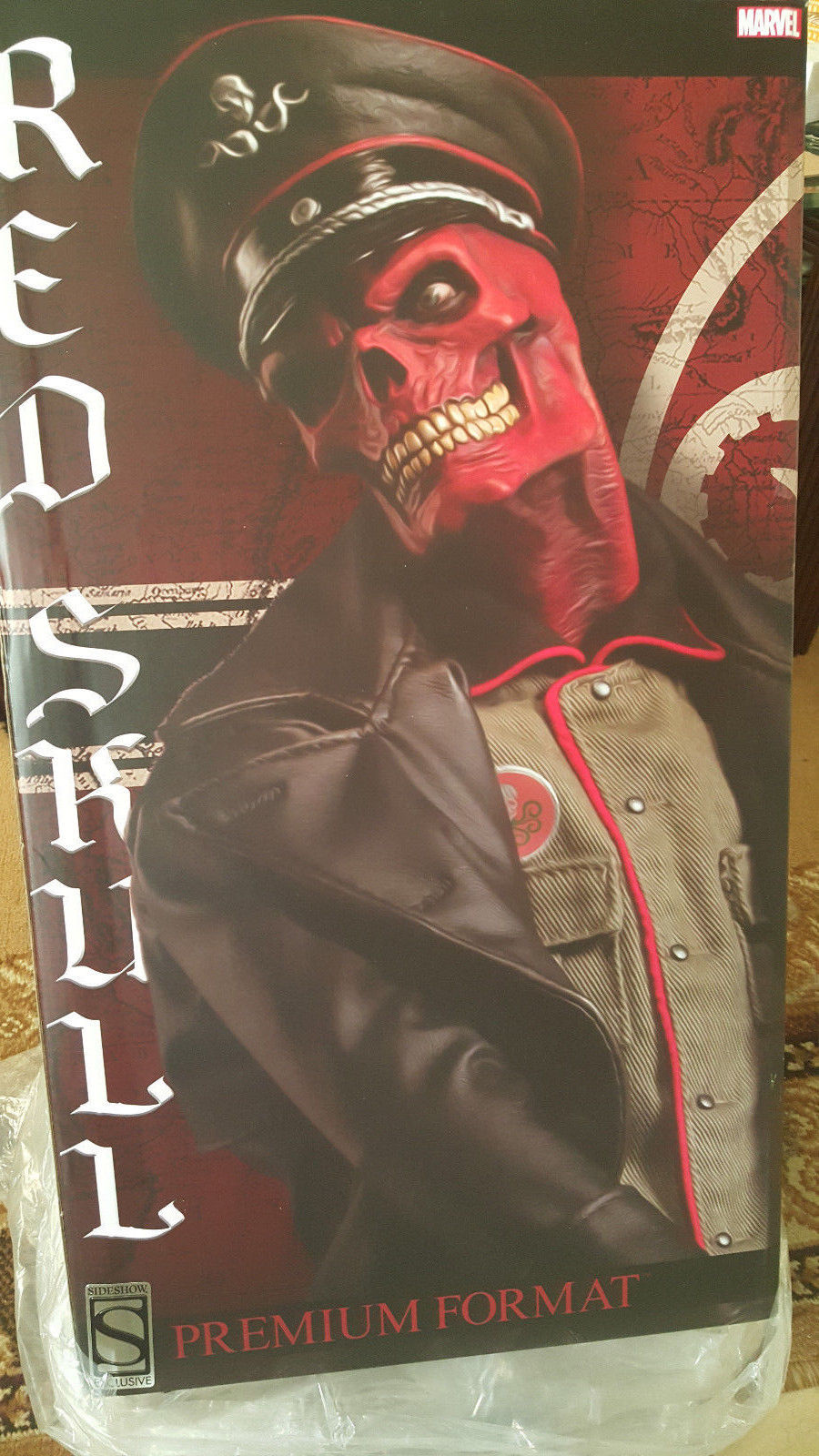 Sideshow-Red-Skull-Premium-Format-Exclusive