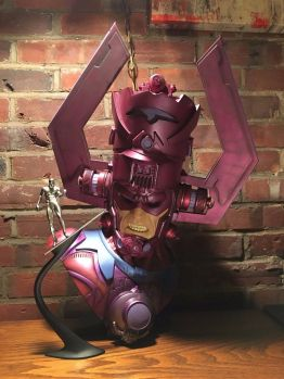 Galactus-Legendary-Scale-Bust-58-1250-Silver-Surfer-Sideshow