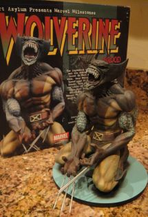 MARVEL-MILESTONES-WOLVERINE-as-BROOD-STATUE-MIB-W-COA-_57