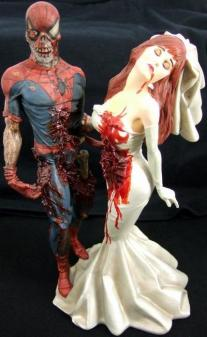 Rare-Nib-Marvel-Comics-Spiderman-Mary-Zombie-Statue-_57