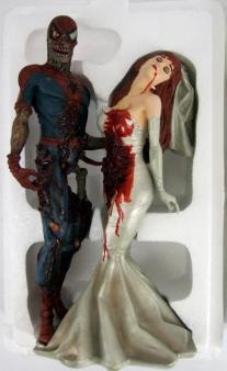 Rare-Nib-Marvel-Comics-Spiderman-Mary-Zombie-Statue