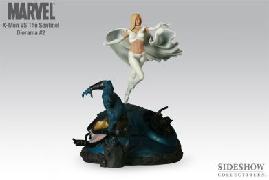 Sideshow-Exclusive-X-Men-Vs-Sentinel-2-Polystone-Diorama