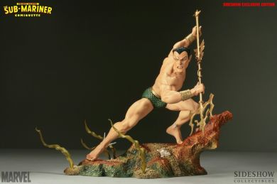 Sideshow-Marvel-EXCLUSIVE-Namor-Sub-Mariner-Statue-Figure-Comiquette