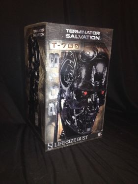 Sideshow-Terminator-Salvation-t-700-Endoskeleton-Life-Size-Figure-Bust