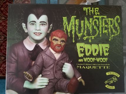 Tweeterhead-Munsters-Eddie-Munster-Black-and-White-Maquette