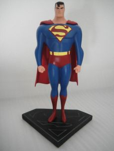 WARNER-BROS-SUPERMAN-MAQUETTE-12-2406-2500-STATUE-MIB