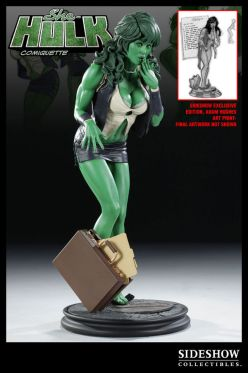 X-Men-Sideshow-She-Hulk-Comiquette-Exclusive-Edition-1-4-Scale
